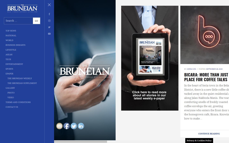 The Bruneian Website